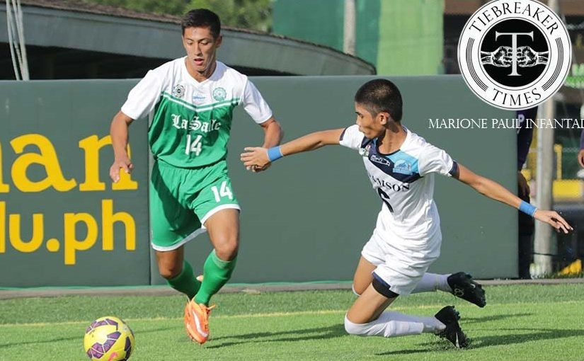 La Salle Men's Football team gets first win at Adamson's expense