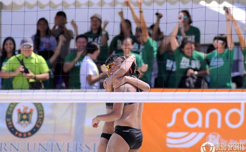 DLSU Lady Spikers crowned UAAP Season 78 Beach Volleyball Champions