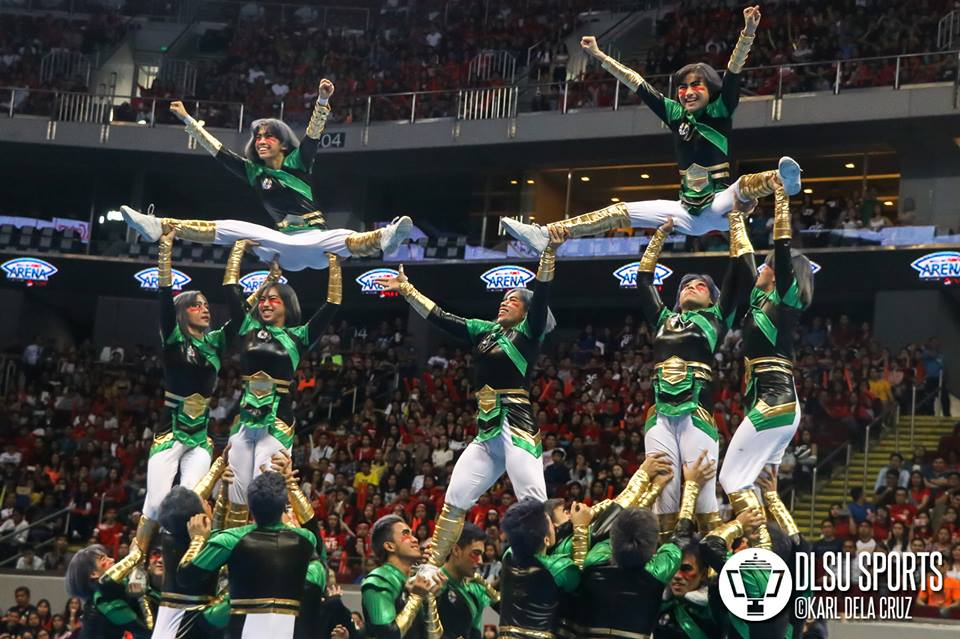 The DLSU Animo Squad finished seventh place in their Japanese-themed performance.