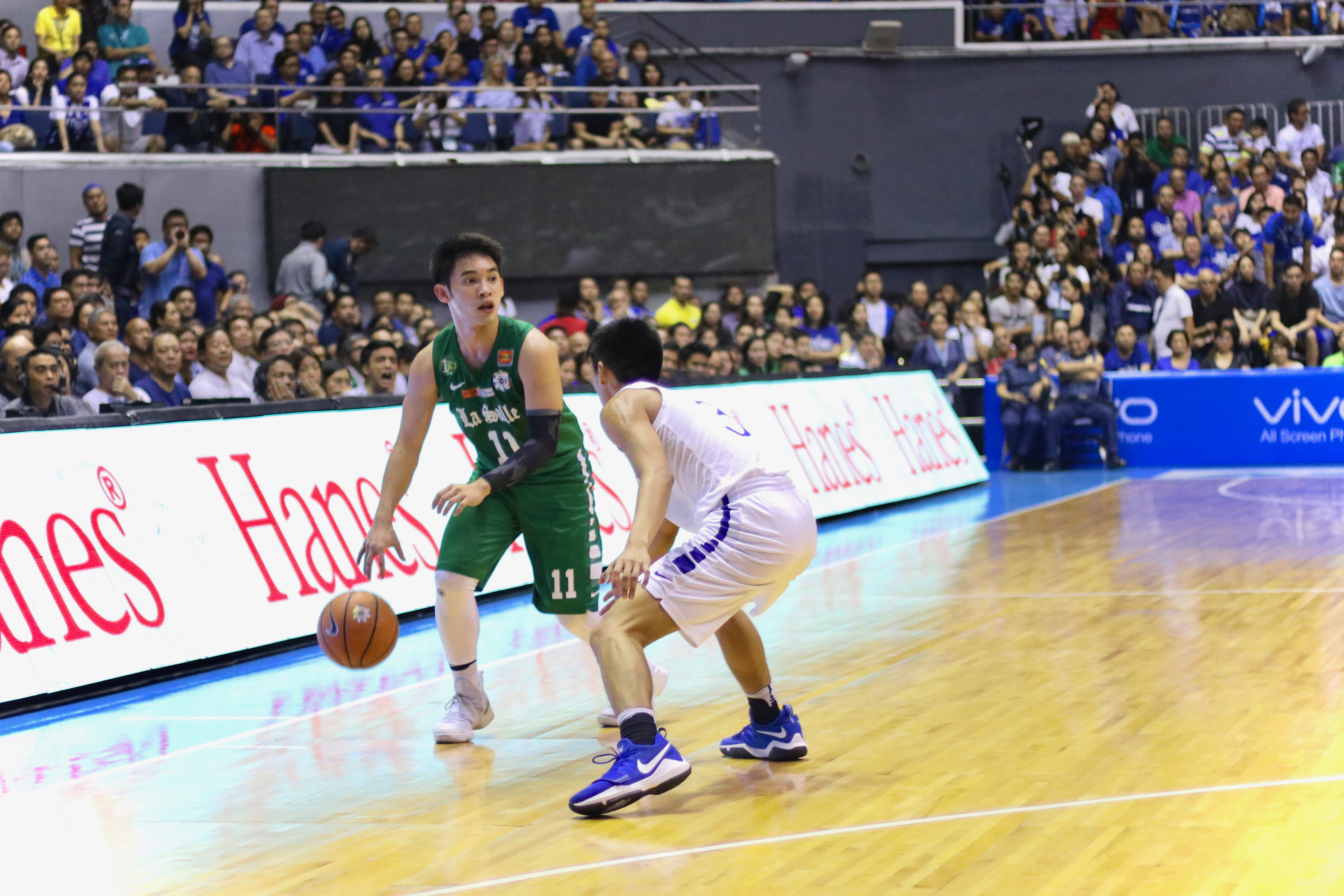 Aljun Melecio had 16 points and four assists in the heartbreaking loss for the Green Archers.