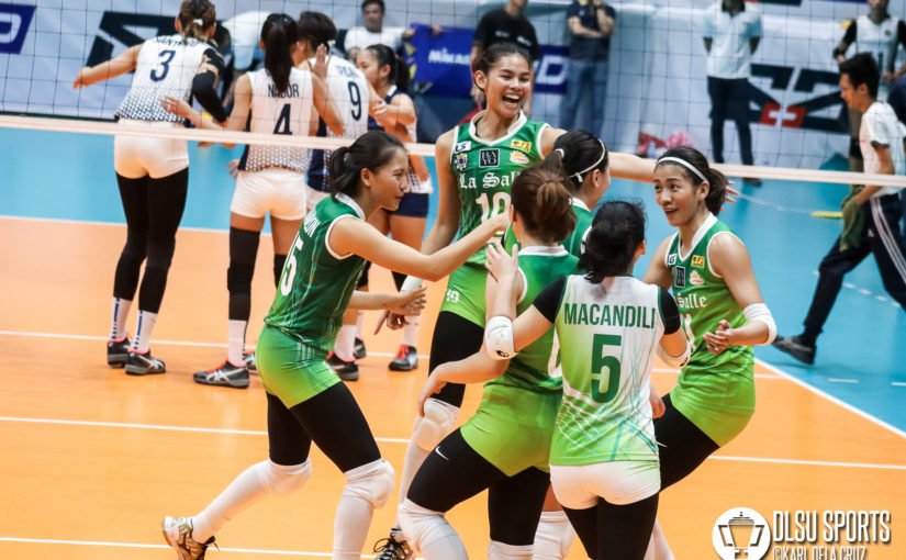 BRING IT ON! DLSU Lady Spikers start Round 2 with sweep of NU Lady Bulldogs