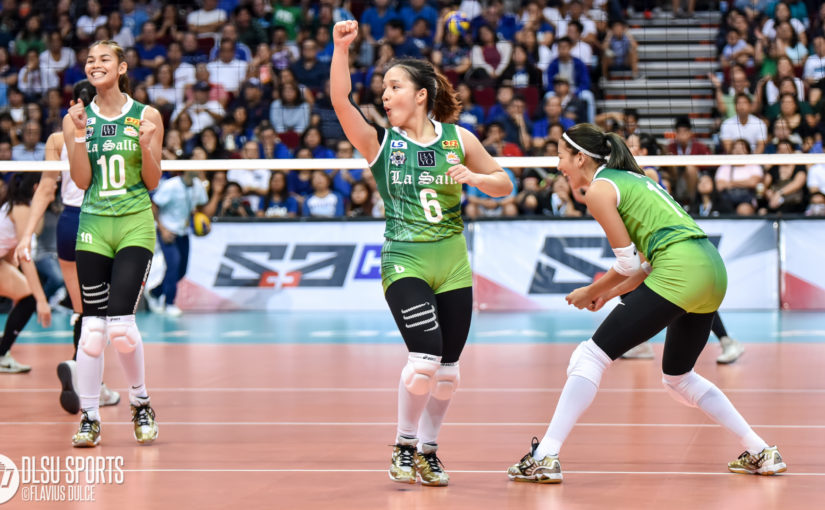 DLSU Lady Spikers blank Ateneo, sweep Round 2