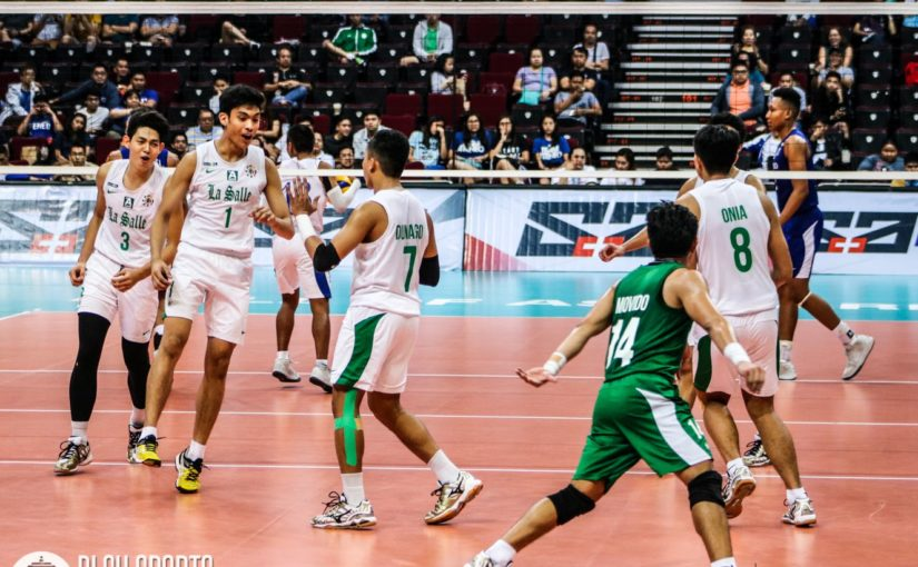 DLSU Green Spikers defeat UP Fighting Maroons, keep Final Four hopes alive