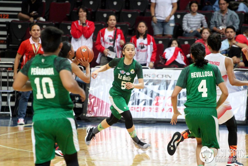 Team captain Camille Claro looks to lead the Lady Archers in their bid of a Final Four return in Season 81.