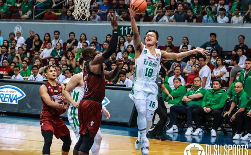 Serrano, Green Archers cruise past Red Warriors to grab share of 3rd spot