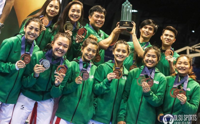 DLSU Lady Jins land 3rd place; Green Jins finish 5th place