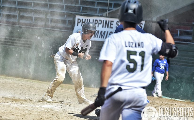 Green Batters move one win away from claiming Baseball title