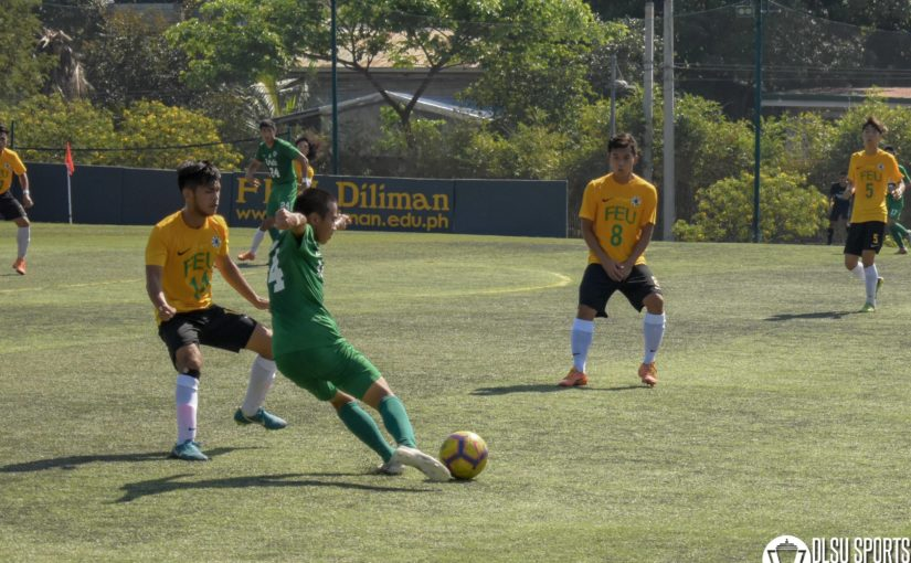 Green Booters absorb tough loss after bowing down to FEU