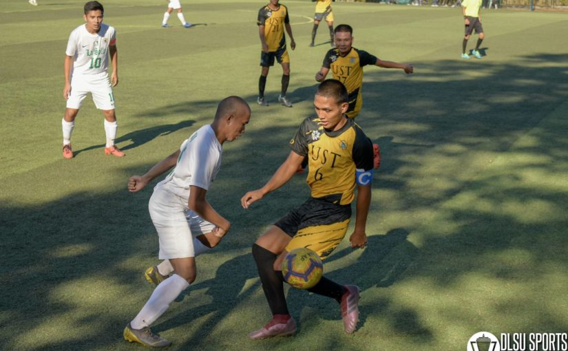 Green Booters log first draw match of the season after late UST goal