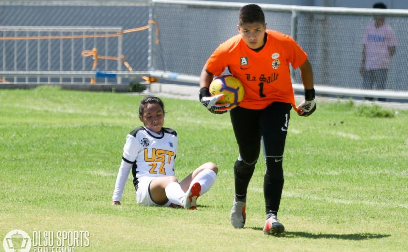 Lady Booters and UST tied in battle between Season 80 finalists