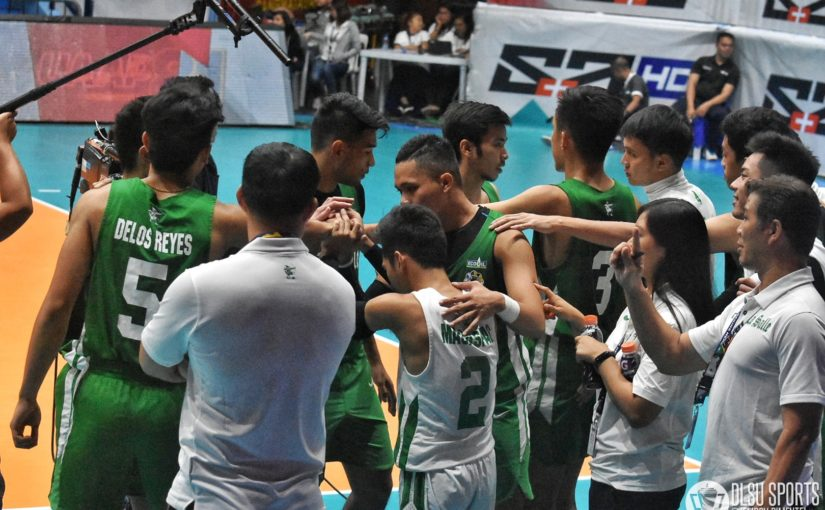 Green Spikers continue losing skid after bowing to FEU Tamaraws in straight sets