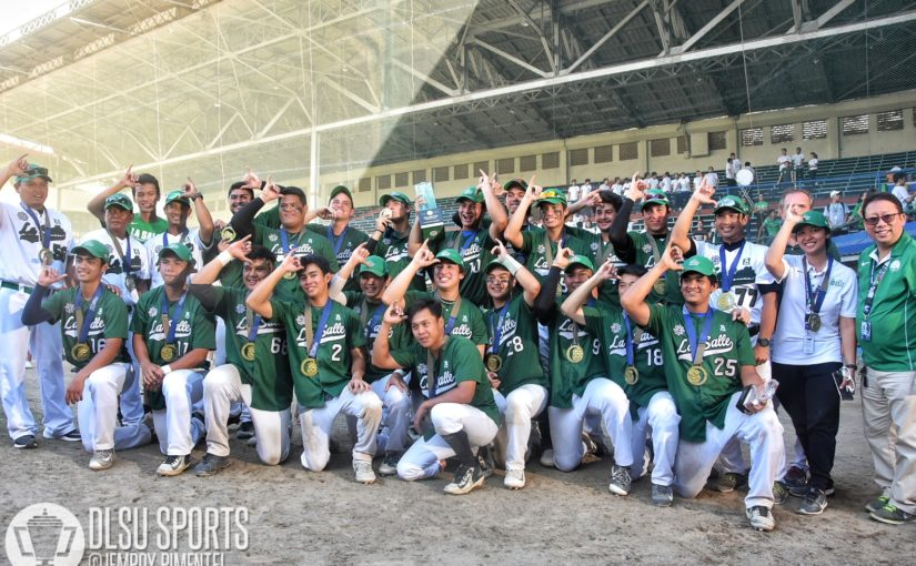 Green Batters clinch Baseball title behind Gesmundo's clutch homer