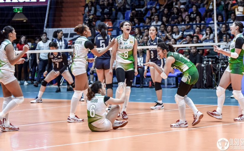 On A Roll: Lady Spikers make quick work of Lady Falcons to boost Final Four bid