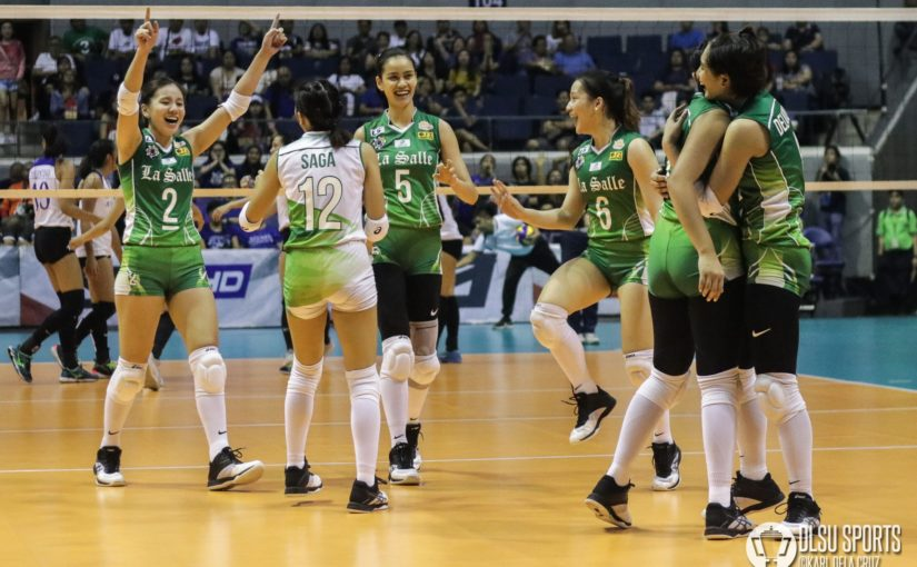 Lady Spikers snap Ateneo's 10-game winning streak in straight sets