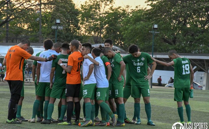 Green Booters split elims series against defending champs