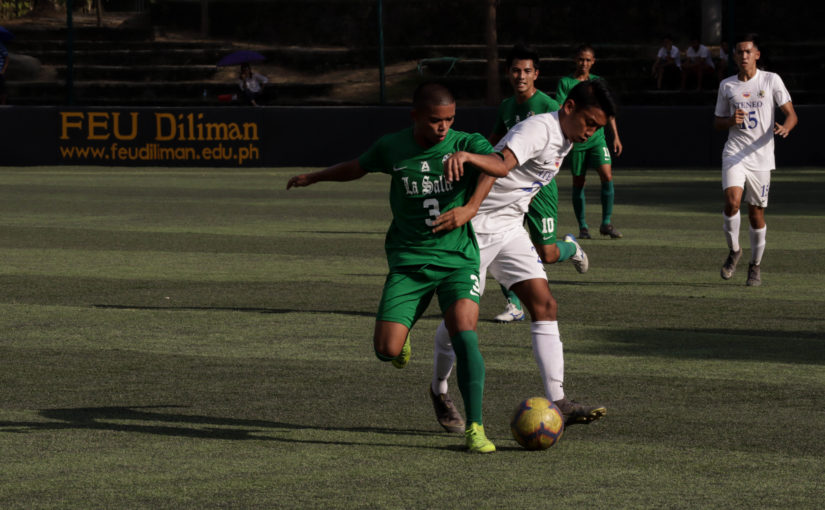 Green Booters still in quest for a win after losing against Ateneo