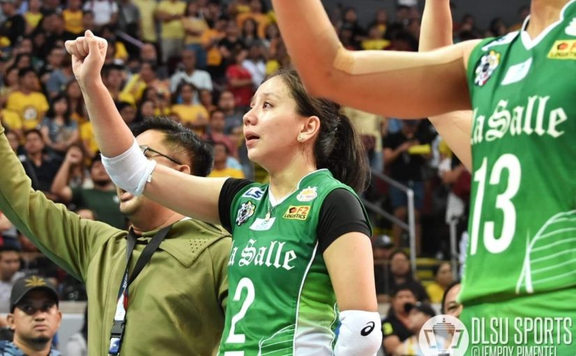 Lady Spikers yield to UST anew, bid farewell to four-peat dreams