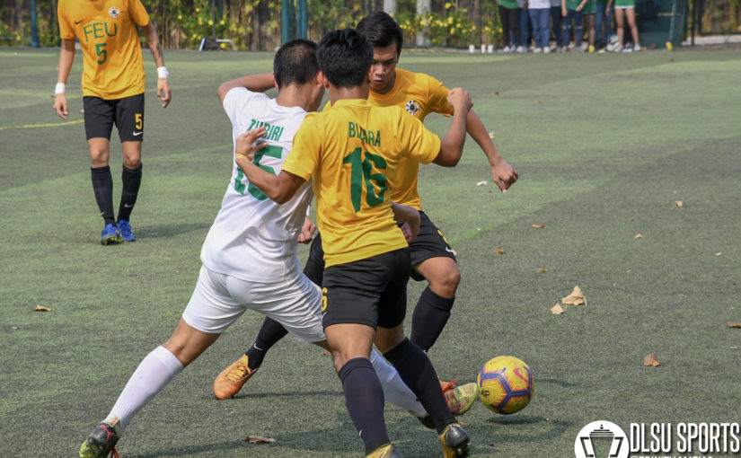Late Zubiri goal catapults Green Booters to semis rematch vs UP