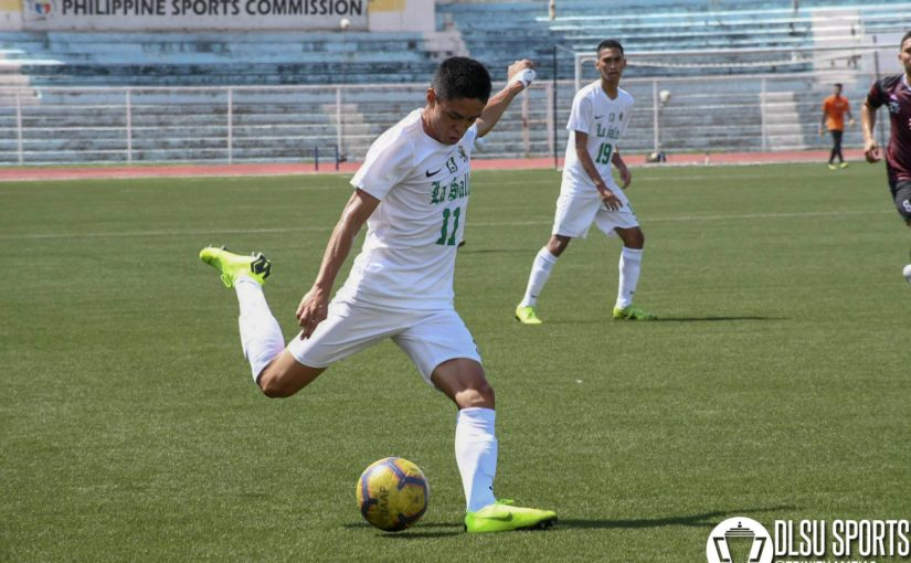 Green Booters clinch finals seat after ousting reigning champs UP