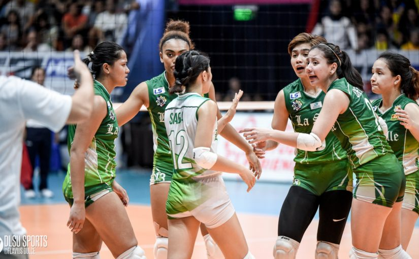 Lady Spikers succumb to UST, concede twice-to-beat advantage